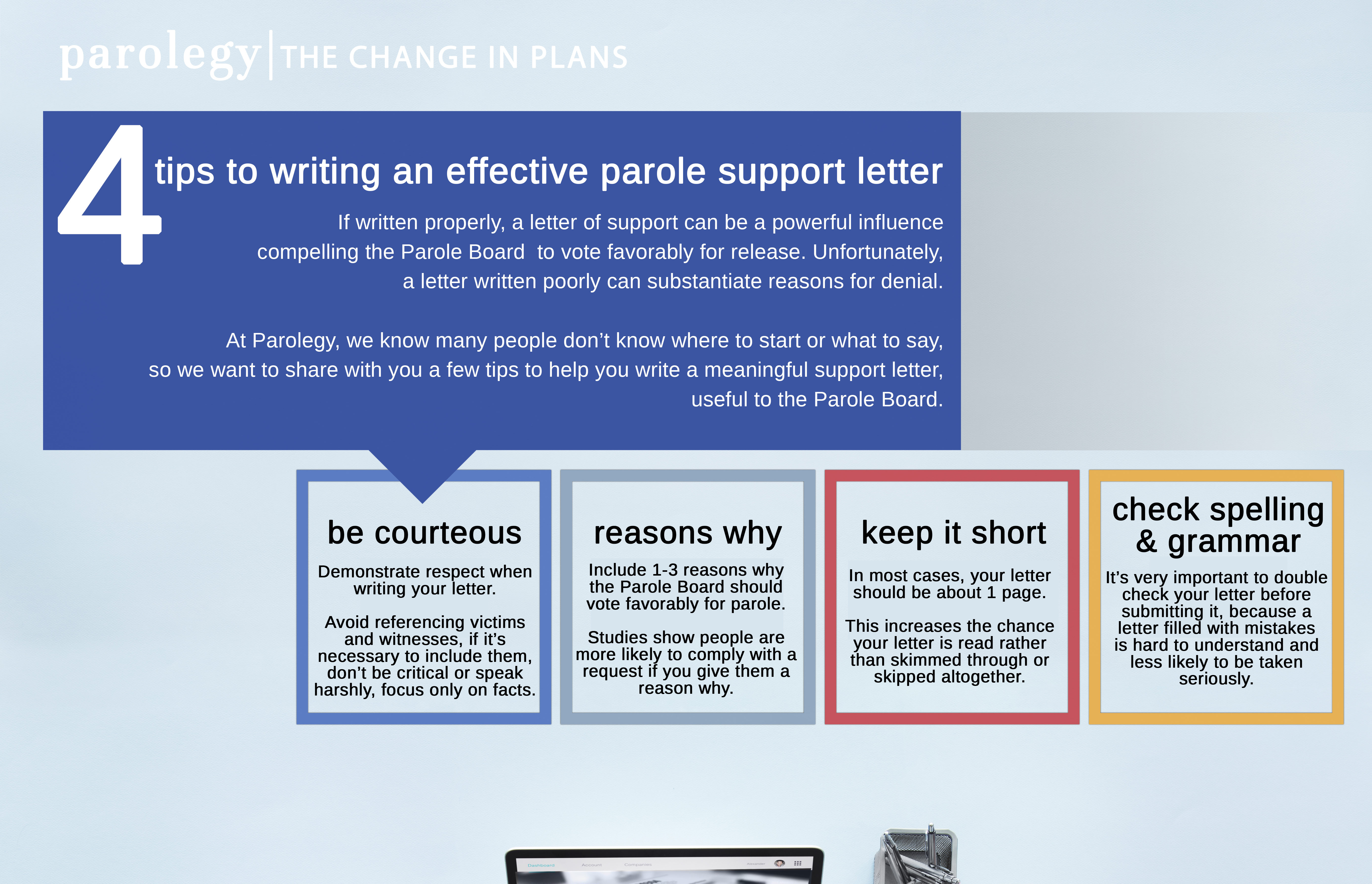 Tips For Writing An Effective Parole Support Letter  Parolegy